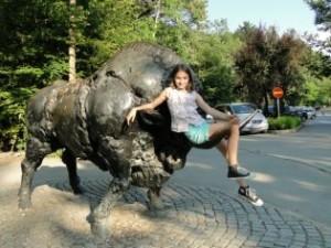 Ljubljana-zoo-bronze-bull