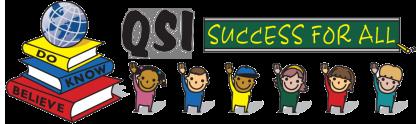 Logotip mednarodne šole QSI Ljubljana, Slovenija