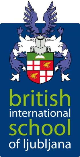 Logo of the British International School of Ljubljana, Slovenia