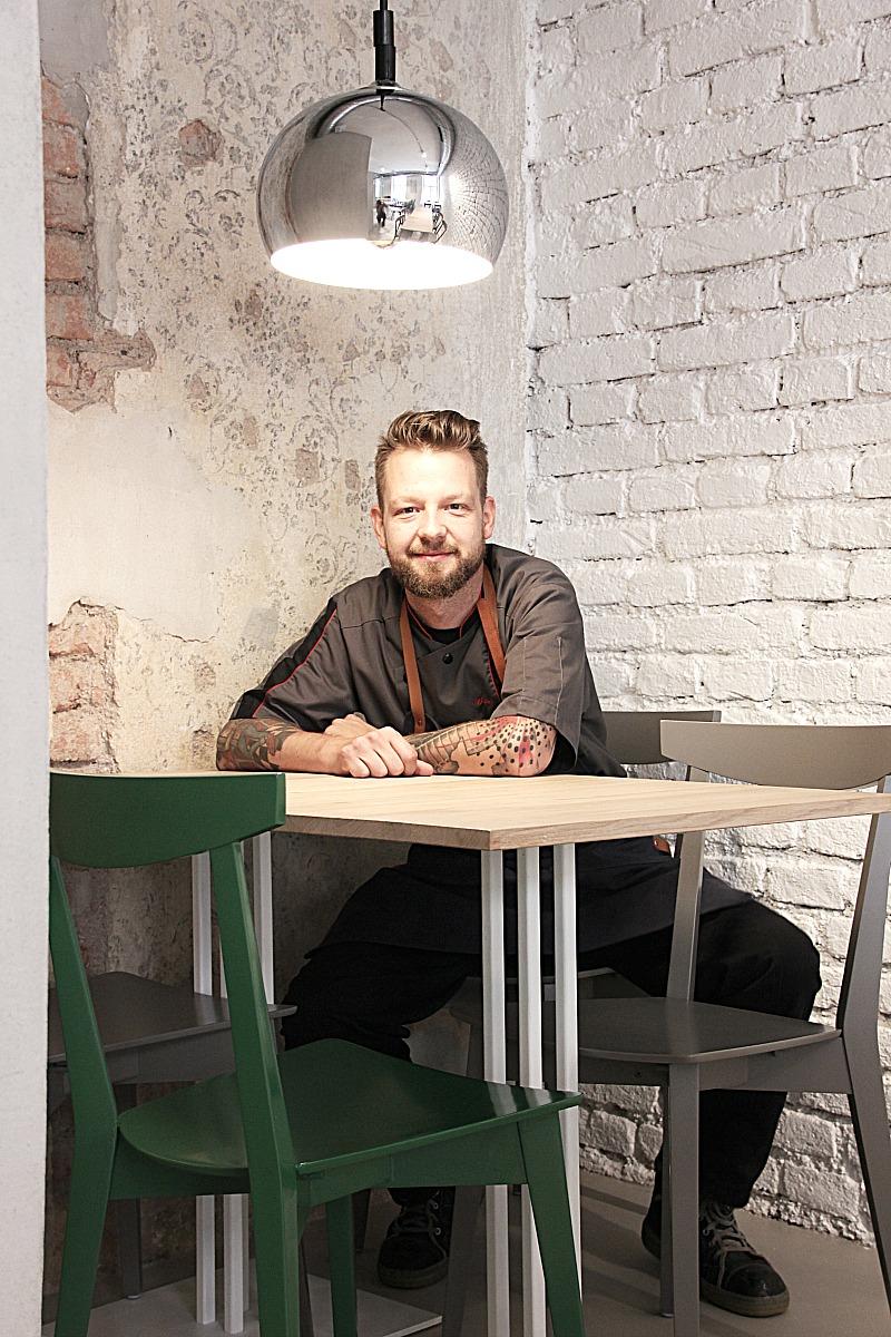 Monstera Bistro Ljubljana, Chef Bine Volčič
