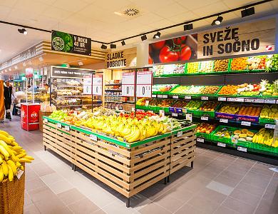 Grocery Stores in Ljubljana, Mercator Store