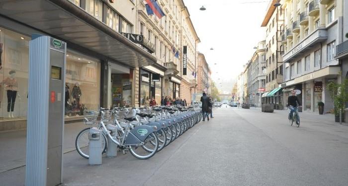 Cankarjeva Street & Nama