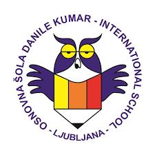 Logotip mednarodne osnovne šole Danile Kumar v Ljubljani, Slovenija