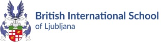 Logo of the British International School of Ljubljana