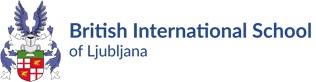 Logo Britanske mednarodne šole v Ljubljani