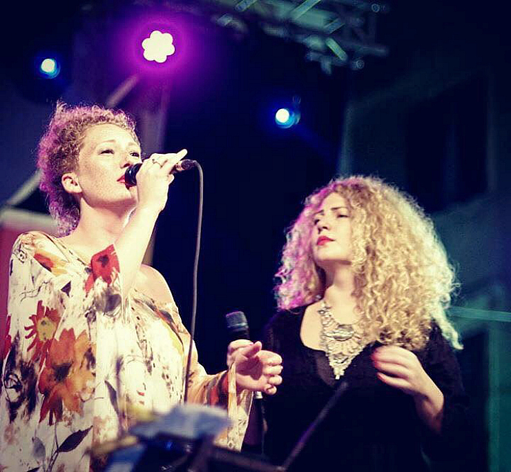 Donna Marina Martensson and her sister Emilia Martensson