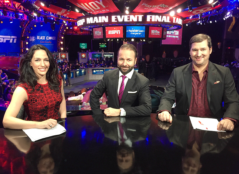 Kara Scott, Anchor for World Series of Poker at ESPN
